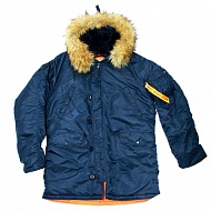 Куртка Аляска NORD DENALI HUSKY N3B INSIGN REP. BLUE ORANGE
