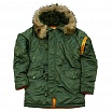Куртка Аляска Nord Storm N3B HUSKY DENALI SAGE GREEN ORANGE