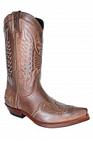 Ковбойские сапоги  Sancho Abarca Boots 5119-383 box crazy saddale