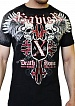 Футболка Xzavier SUPER DUPER CROSS SKULLS  L1204  цвет black